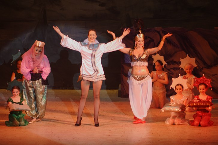 Aladdin's Cave -- Broxbourne pantomime photo 2007/2008