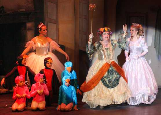 Cinderella Pantomime Broxbourne: Cinderella with Fairies and Animals