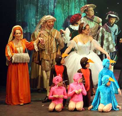 Cinderella Pantomime Broxbourne: Fairy, Villagers and Animals