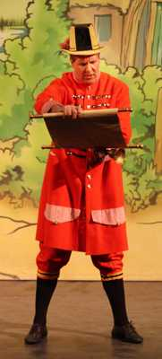Cinderella Pantomime Broxbourne: Town Cryer