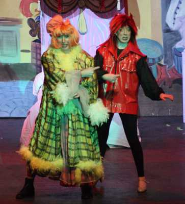 Cinderella Pantomime Broxbourne: Ugly Sister and Demon