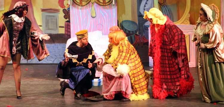 Cinderella Pantomime Broxbourne: Prince Charming, Major Domo and Ugly Sisters