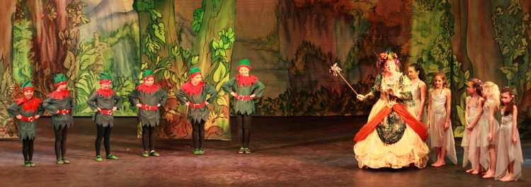 Cinderella Pantomime Broxbourne: Elves and Fairy