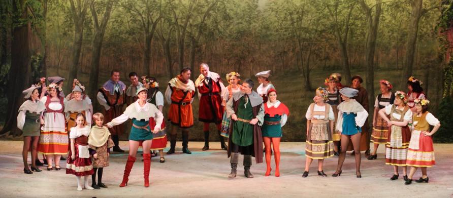 Broxbourne Theatre Company Pantomime: Castle Scene