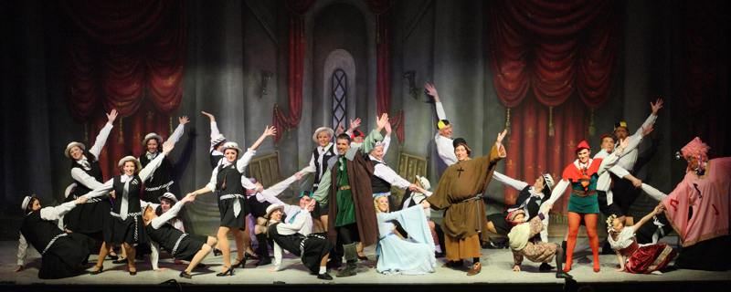 Broxbourne Thearre Company Pantomime Photo: The Schoolroom